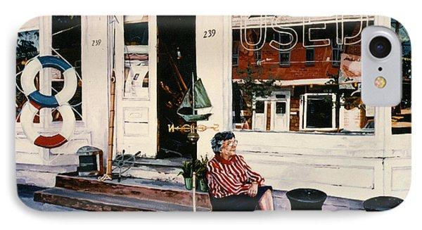 Mrs. Persteins Phone Case by Marguerite Chadwick-Juner