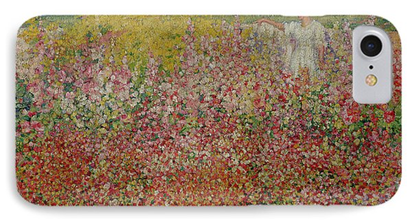 Mrs Russell Amongst The Flowers At Belle Isle IPhone Case