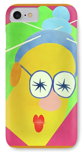 IPhone Case featuring the painting Mrs. Strangefellow by Thomas Blood