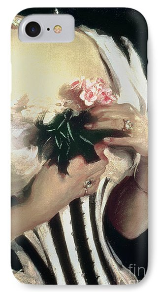 Mrs Wilton Phipps IPhone Case by John Singer Sargent
