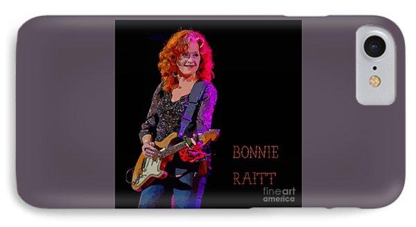 Ms. Bonnie Raitt Rocks IPhone Case by John Malone