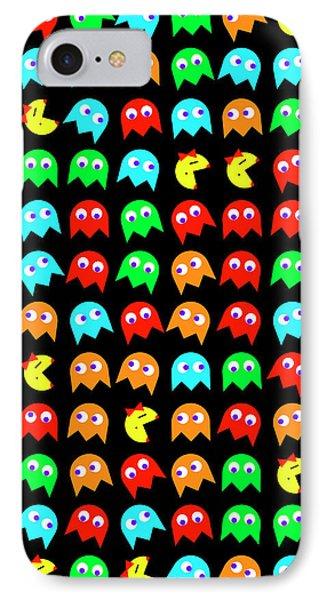 Ms Pacman Panel IPhone Case