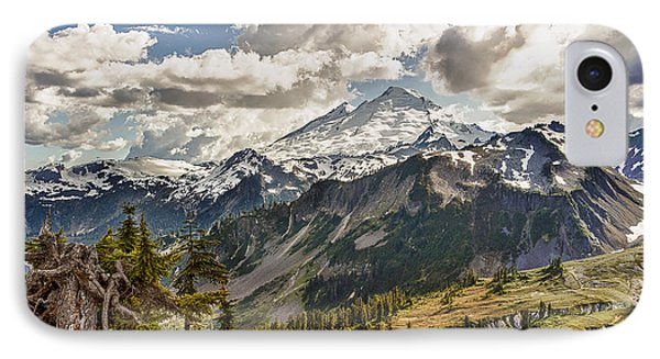Mt Baker Panoramic IPhone Case by Tony Locke