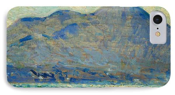 Mt. Beacon At Newburgh IPhone Case by Childe Hassam