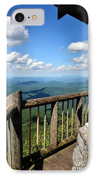 Mt. Cammerer IPhone Case by Debbie Green