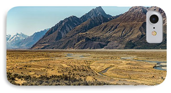 IPhone Case featuring the photograph Mt Cook And Tasman River  by Gary Eason