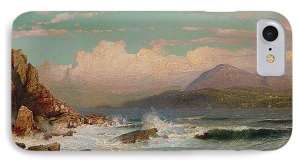 Mt Desert   Maine IPhone Case by William Trost Richards