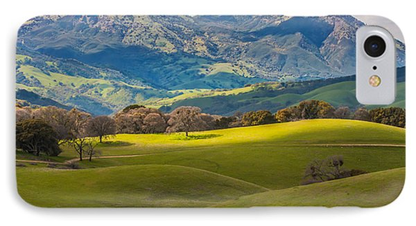 Mt. Diablo On A Spring Afternoon IPhone Case by Marc Crumpler
