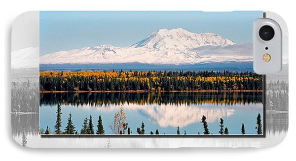 IPhone Case featuring the photograph Mt. Drum - Alaska by Juergen Weiss