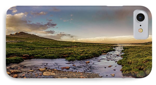 IPhone Case featuring the photograph Mt. Evans Alpine Stream by Chris Bordeleau