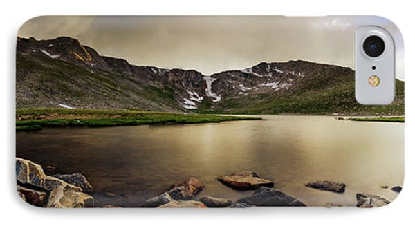 IPhone Case featuring the photograph Mt. Evans Summit Lake by Chris Bordeleau