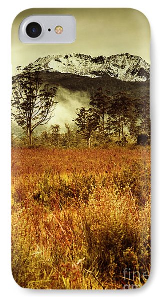 Mt Gell. Tasmania National Park Of Franklin Gordon IPhone Case by Jorgo Photography - Wall Art Gallery