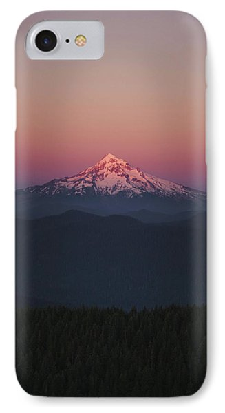 Mt. Hood  IPhone Case by David Priymak