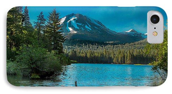 Mt Lassen IPhone Case by Bill Gallagher