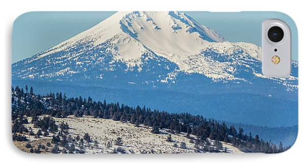 IPhone Case featuring the photograph Mt. Mcloughlin by Marc Crumpler