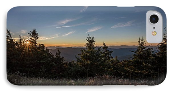 Mt Mitchell Sunset North Carolina 2016 IPhone Case by Terry DeLuco