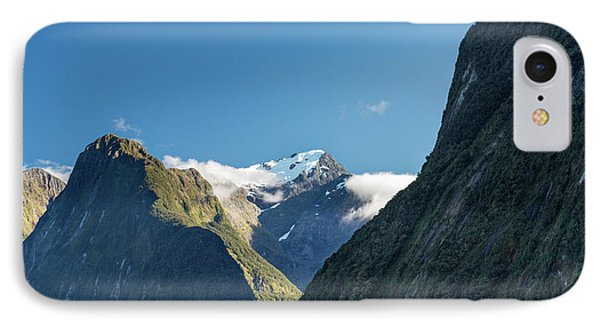 IPhone Case featuring the photograph Mt Pembroke Glacier by Gary Eason