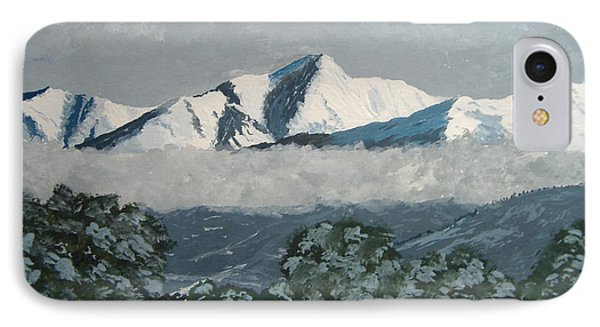 IPhone Case featuring the painting Mt Princeton Co by Norm Starks