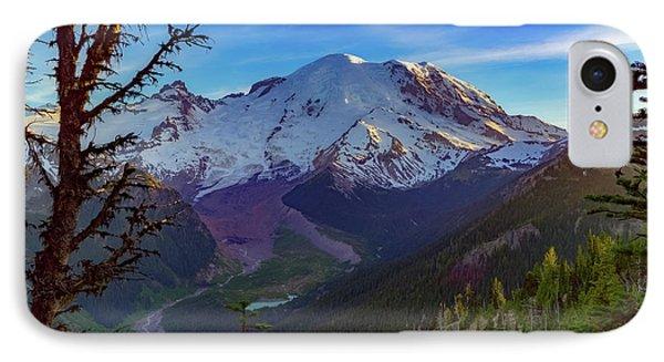 Mt Rainier At Emmons Glacier IPhone Case by Ken Stanback