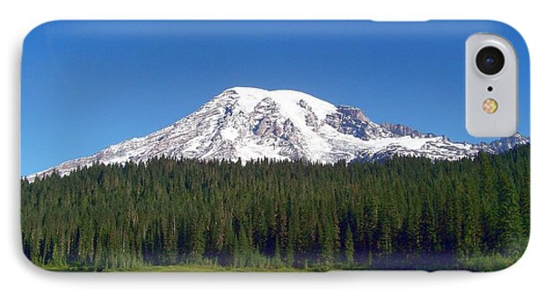 Mt. Rainier At Reflection Lake Phone Case by Charles Robinson