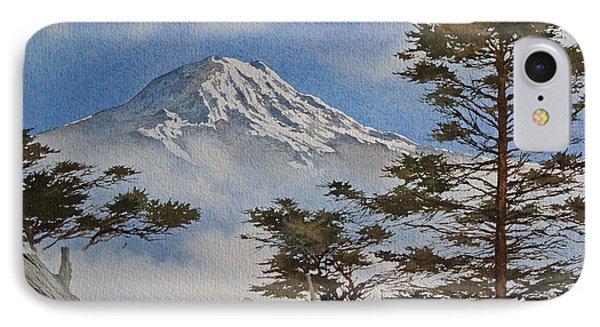 Mt. Rainier Landscape Phone Case by James Williamson