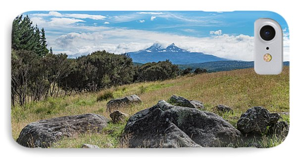 IPhone Case featuring the photograph Mt Ruapehu View by Gary Eason