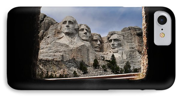 IPhone Case featuring the photograph Mt Rushmore Tunnel by David Lawson
