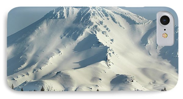 IPhone Case featuring the photograph Mt Shasta In Early Morning Light by Marc Crumpler