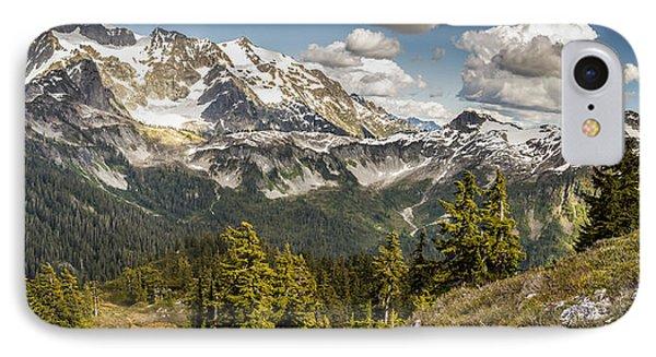 Mt Shuksan Panoramic IPhone Case
