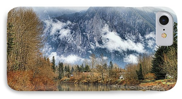 Mt Si IPhone Case by Ken Stanback