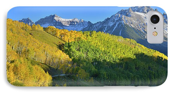 IPhone Case featuring the photograph Mt. Sneffels From County Road 7 by Ray Mathis