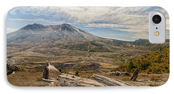 Mt St Helens Phone Case by Brian Harig