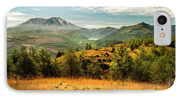 Mt St Helens I Phone Case by Brian Harig
