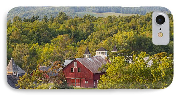 Mt View Farm In Summer IPhone Case by Tim Kirchoff