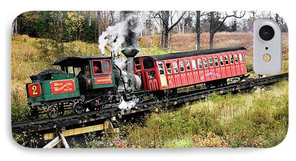 Mt Washington Cog Railway And Train IPhone Case