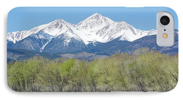 Mt. Yale - Spring IPhone Case by Aaron Spong