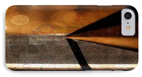 Mucem,panoramic,bokeh IPhone Case
