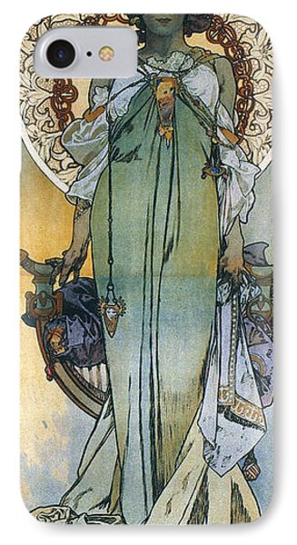 Mucha: Theatrical Poster Phone Case by Granger