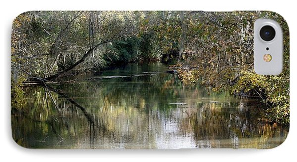 IPhone Case featuring the photograph Muckalee Creek by Jerry Battle