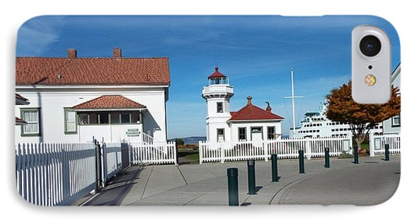 Muckilteo Lighthouse IPhone Case