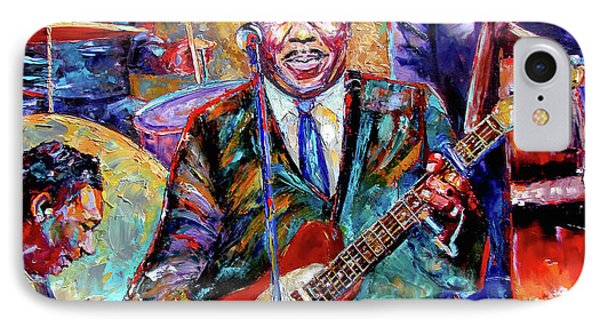 Muddy Waters And His Band Phone Case by Debra Hurd