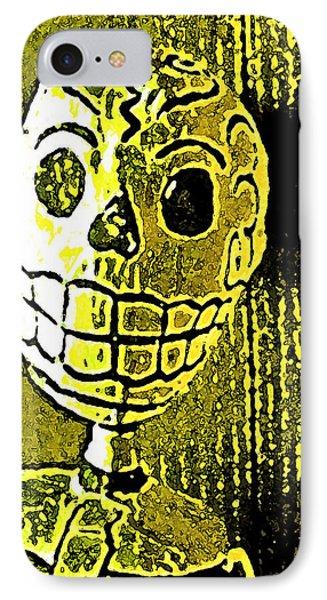 Muertos 1 IPhone Case by Pamela Cooper
