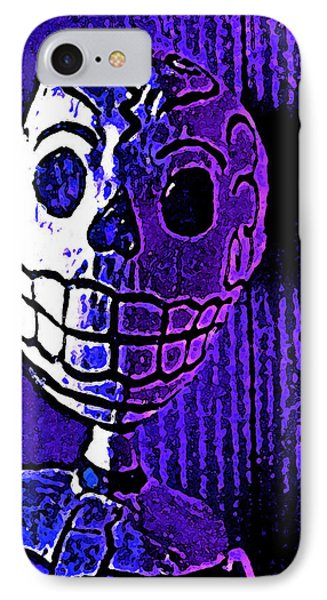 Muertos 2 IPhone Case by Pamela Cooper