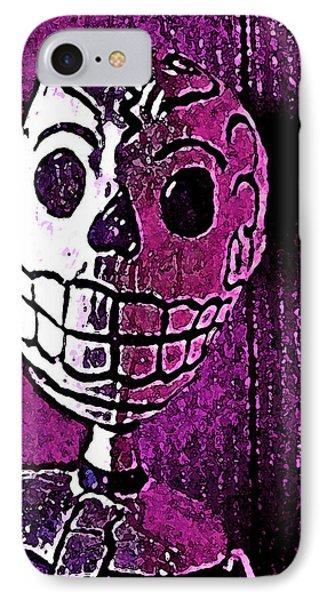 Muertos 3 IPhone Case by Pamela Cooper