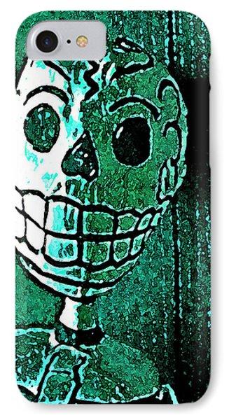 Muertos 4 IPhone Case by Pamela Cooper
