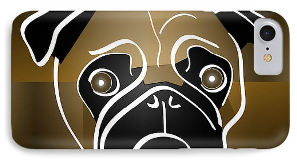 Mug Of A Pug IPhone Case by Stephen Younts