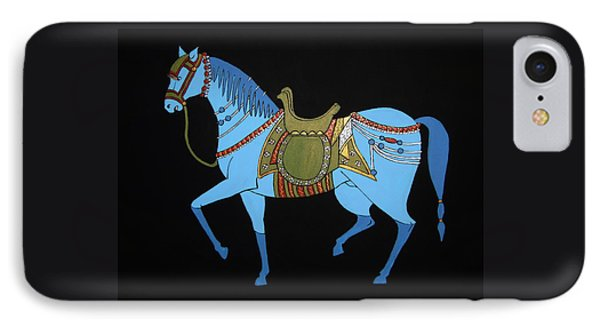Mughal Horse IPhone Case by Stephanie Moore