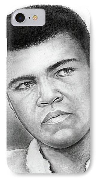 Muhammad Ali IPhone Case by Greg Joens