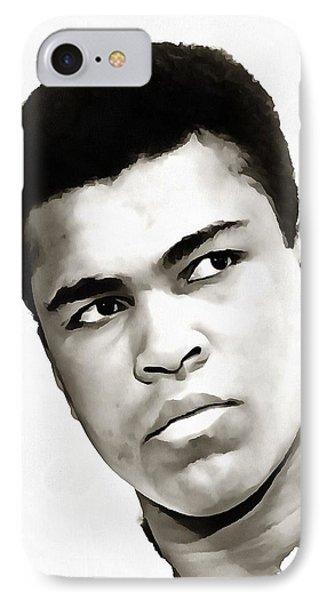 Muhammad Ali IPhone Case by Tracey Harrington-Simpson