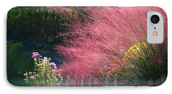 IPhone Case featuring the photograph Muhly Grass by Kathryn Meyer